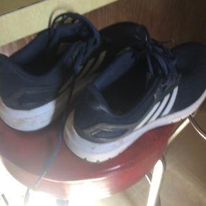 Mens ortholite adidas blue with white stripe